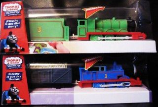 PRICE Trackmaster TALKING THOMAS & HENRY MOTORIZED New FRENCH VERSION