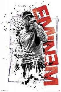 EMINEM POSTER ~ PROOF 22x34 Music Rap Marshall Mathers