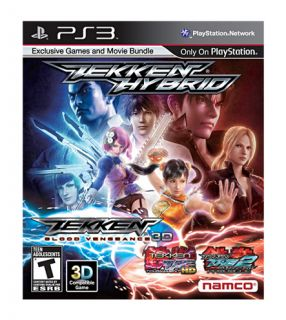 Tekken Hybrid Sony Playstation 3 New Factory Sealed PS3 Video Game