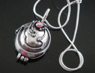 HOT  VINTAGE Vampire Diaries Elena Vervain Pendant Necklace Silver