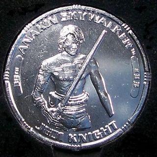 Star Wars TAC * ANAKIN SKYWALKER Jedi Knight # 33 Silver Coin 30th