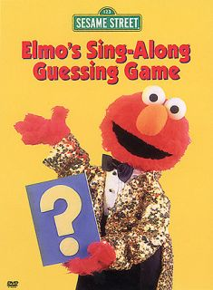 Sesame Street   Elmos Sing Along Guessing Game DVD, 2003