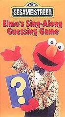 Sesame Street   Elmos Sing Along Guessing Game VHS, 1996