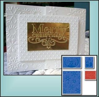 655841 Embossing Folders by Sizzix for All Die Cut / Embossing Machine