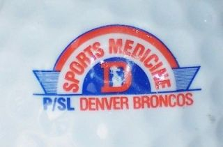 DENVER BRONCOS NFL FOOTBALL LOGO GOLF BALL ( VINTAGE HELMET SPORTS