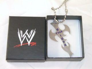JEFF HARDY TNA Enigma Pendant  WWE Box