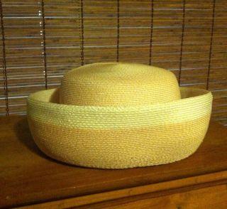 True Vintage Ladies Hat USA Made 60s Audrey Hepburn Style
