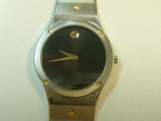 MOVADO 86 A2 876K stainless steel two tone mens watch
