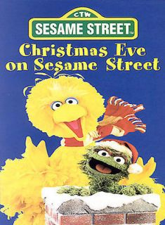 Sesame Street   Christmas Eve on Sesame Street in DVDs & Blu ray Discs