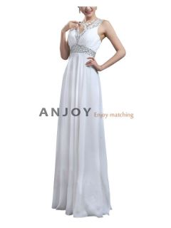 2012 Long Chiffon Elegant Evening Bridesmaid Wedding Cocktail Party