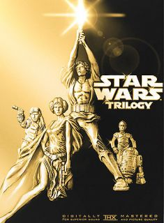 Star Wars Trilogy (DVD, 4 Disc Set; Pan & Scan) IV V VI 4 5 6 Rare
