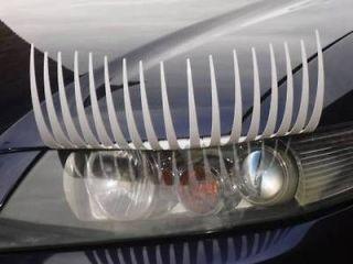 Eyelashes for Cars,Car Eyelashes  High quality WHITE car lashes from