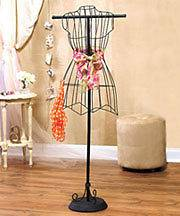 NEW Vintage Wire Dress Form Mannequin Boutique Clothes Display Stand