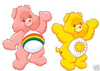 Carebear Iron On Transfers For Light Fabric Care bears