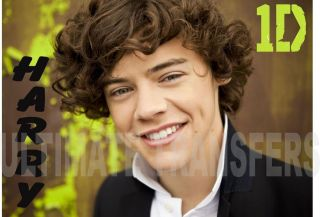 harry styles one direction iron on transfer more options transfer