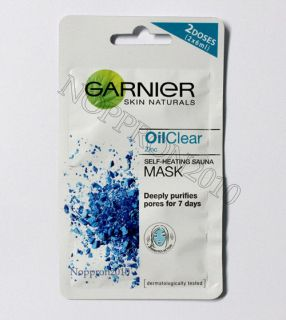 Garnier Pure Self Heating Sauna Mask with zinc