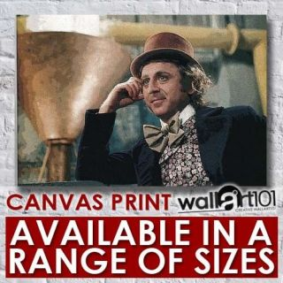 and the chocolate factory canvas effect high quality framed location