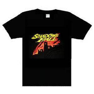 Shadows Fall music punk rock t shirt BLACK XLarge