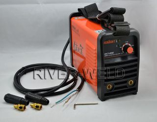 IGBT ZX7 200 DC INVERTER MMA ARC MACHINE manual welder