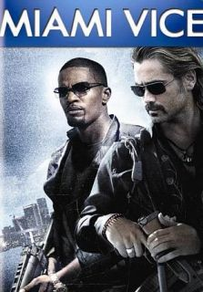 Miami Vice DVD, 2009, Includes THE FAST AND FURIOUS Drafting   Movie
