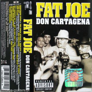 FAT JOE   DON CARTAGENA Ultra Rare Cassette Tape Polish Press BB