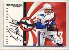 Donruss Signature Series Kevin Faulk Auto Patriots On Card Autograph