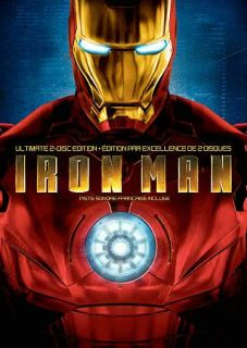 Iron Man DVD, 2008, Canadian Ultimate Edition