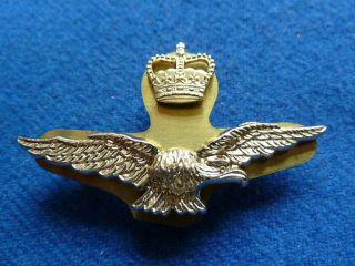 Royal Air Force Civilian Drivers Anodised Cap Badge Post 1953