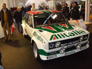 fiat 131 abarth alitalia decals stickers adesivi