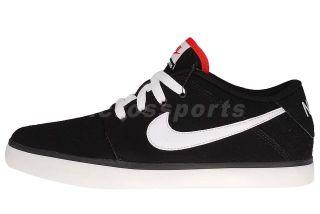 Nike Suketo Leather Black White Mens Classic Casual Shoes 525311 011