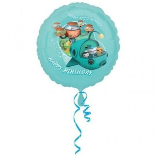 Octonauts Party Happy Birthday Foil Balloon 18
