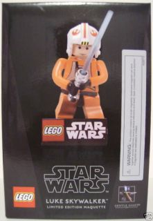LUKE SKYWALKER Star Wars Gentle Giant Limited Edition Lego Maquette