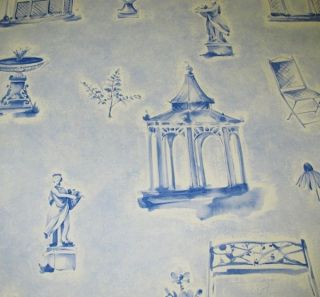 BRUNSCHWIG & FILS GARDEN FOLLIES WALLPAPER  $30 A DOUBLE ROLL 12