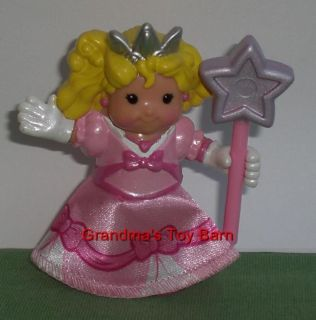 Fisher Price Little People Castle Princess Sarah Lynn Girl w/ Wand NEW