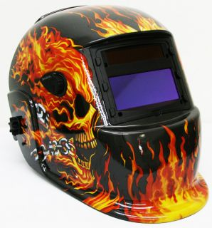 Flame Auto Darkening Mig Tig Mag Welding Grinding Helmet Welder Mask