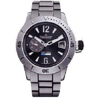 Jaeger LeCoultre Master Compressor Black Dial Titanium Mens Watch