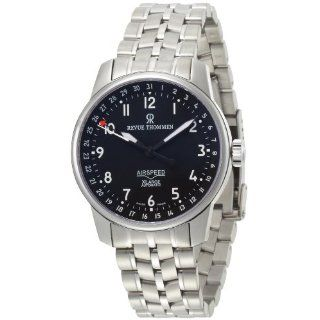 Revue Thommen Mens 16050.2137 Airspeed XLarge Automatic Black Dial