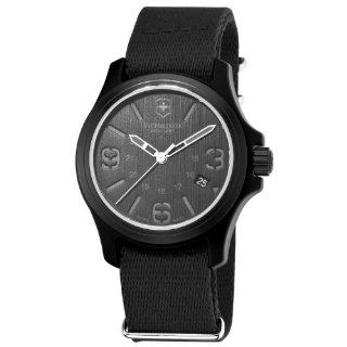 Swiss Army Mens 241517 Original Black Dial and Strap Watch Watch