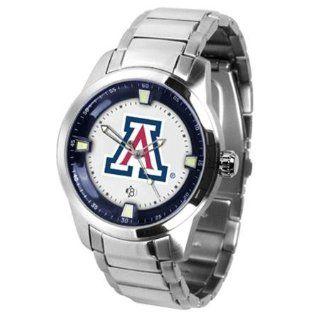 Arizona Wildcats UA NCAA Mens Titan Steel Watch