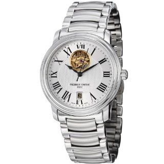 Frederique Constant Mens FC 315M4P6B3 Heart beat Stainless Steel Open