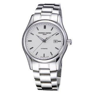 Frederique Constant Mens FC303S6B6B Index Silver Automatic Dial Watch