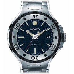 Movado Mens 2600006 Series 800 Performance Stainless Steel Watch