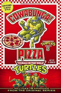 Teenage Mutant Ninja Turtles   Season 5 DVD, 2007, 3 Disc Set