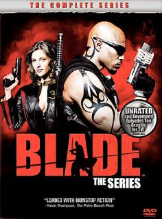 Blade   The Complete Series DVD, 2008, 4 Disc Set