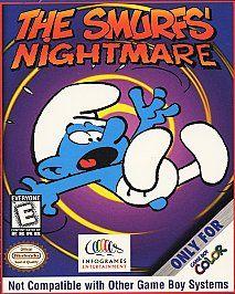 The Smurfs Nightmare Nintendo Game Boy Color, 1999