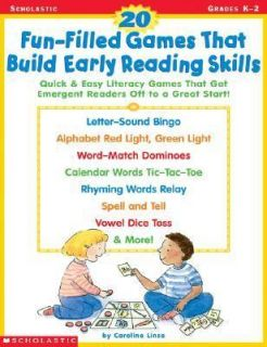 20 Fun Filled Games That Build Early Reading Skills Quick and Easy