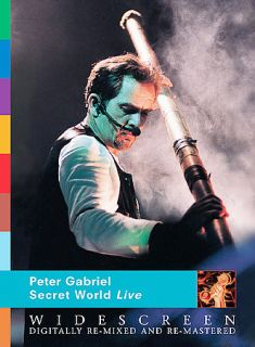 Peter Gabriel   Secret World Live DVD, 2003