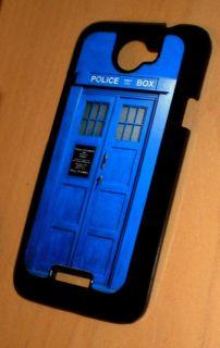 HTC One X Dr. Who Tardis Vintage Police Call Box Hard Case British