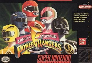 Mighty Morphin Power Rangers (Super Nintendo, 1994)