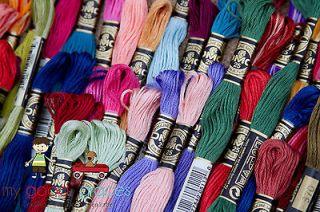 Lot of 10 DMC embroidery floss thread Friendship Bracelets Needlepoint